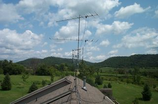 New Rooftop Antenna Arrangement
